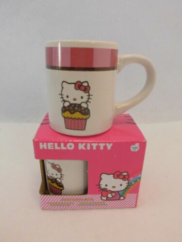 Hello Kitty Tasse Becher Kakaobecher Kakaotasse Teetasse Trinkbecher NEU OVP