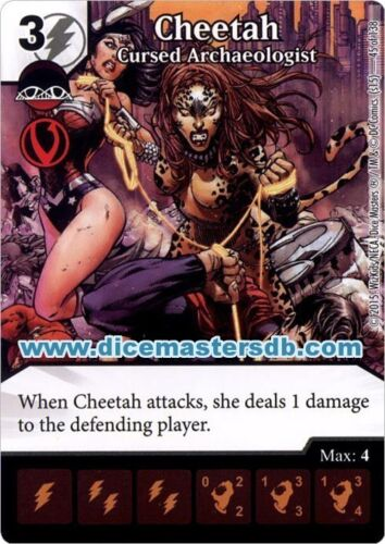 Cheetah Cursed Archaeologist #45 Justice League DC Dice Masters