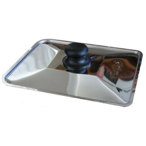Boaties Stainless Steel Lid for Square Frying Pan