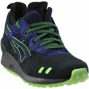 asics gellyte mt mens sneakers shoes casual  black  ebay
