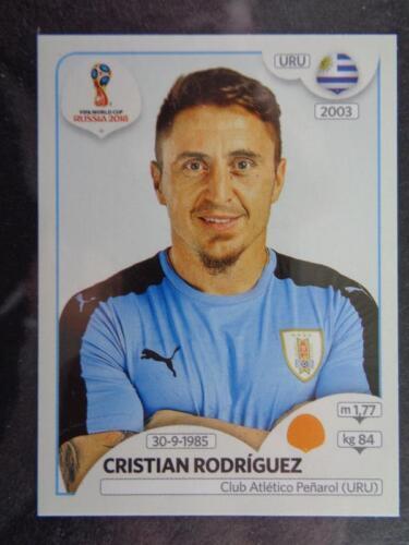 106 Cristian Rodríguez Uruguay No Panini World Cup 2018 Russia