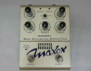 Maxon-ROD881-Real-Overdrive-Distortion-Guitar-Effect-Pedal-MIJ-Free-Shipping