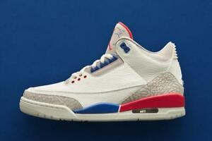 5a2cc46acb0b92 Nike Air Jordan III 3 Retro International Flight Red Blue size 12 ...