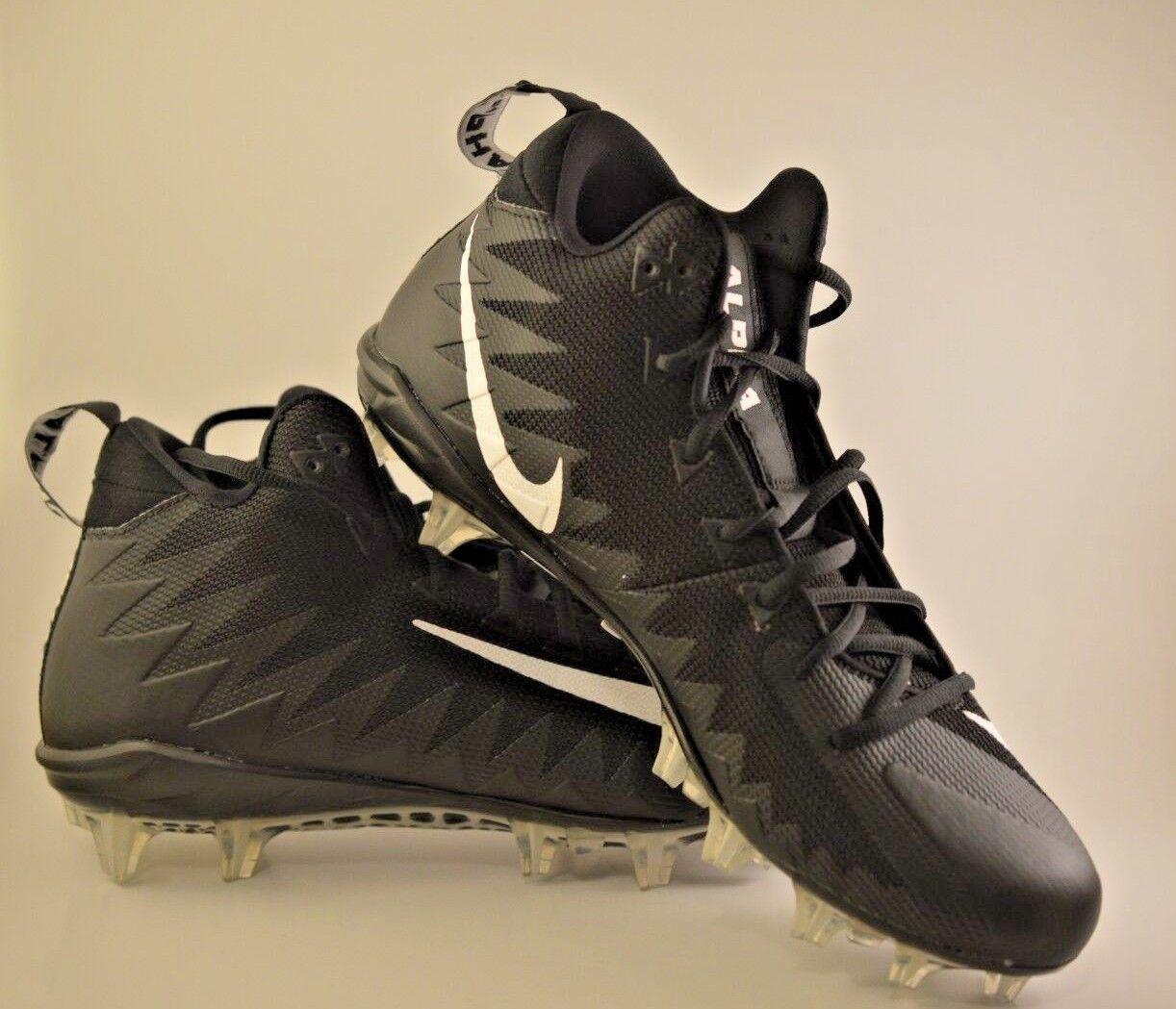 Nike alfa minaccia della met bianco 871451-010 e nero football scarpette 871451-010 bianco dimensioni noi 11 542199