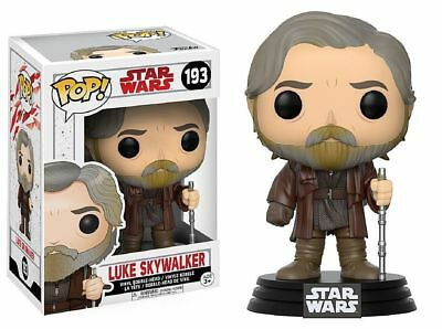 "STAR WARS JEDI L/'ULTIMA-Luke Skywalker 3.75/"" Vinile Pop Personaggio Bobble FUNKO 193"