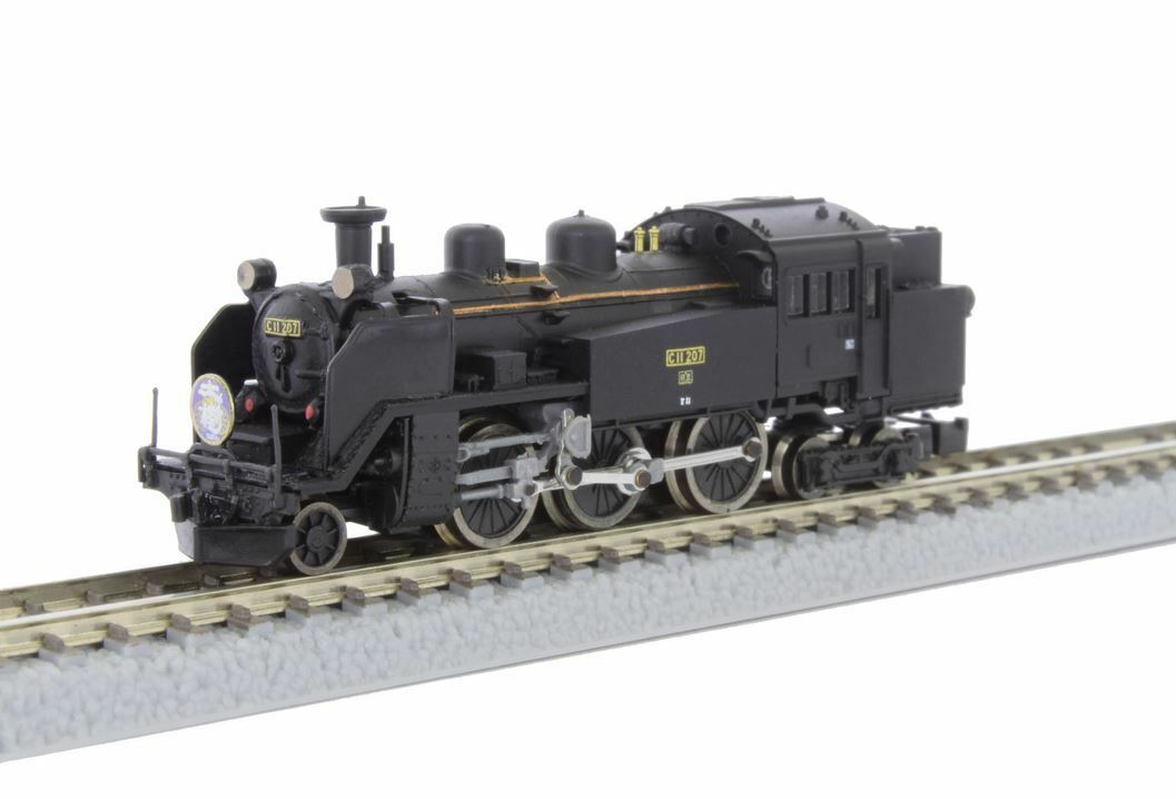 Rokuhan T019-5 Tobu ferroCocheriles C11 Locomotora de vapor 207 SL tipo  Taiju