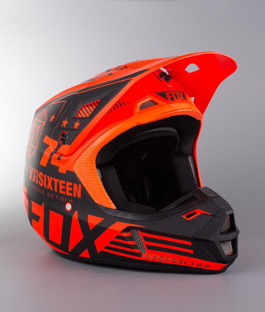 Fox Racing V2 Motocross Helmet XL