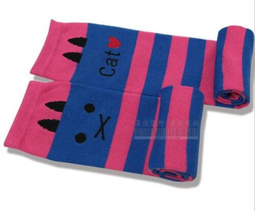 FREE Baby Leggings Leg Arm Warmers Cotton Stripe Cat Socks 1-8 years Children
