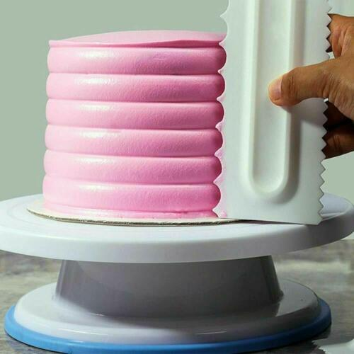 Buttercream Smoother Pastry Icing Cake Decorating Baking Cake Sculpting Tools