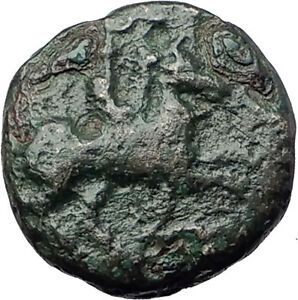 Philip-II-359BC-Olympic-Games-HORSE-Race-WIN-Macedonia-Ancient-Greek-Coin-i61783