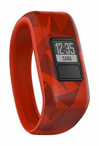 Red Broken Lava Daily Activity Tracker for Kids Garmin Vivofit Jr