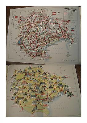 Cartina Veneto Trentino.Guida Veneto Trentino Alto Adige Mappa Italia Linee Aeree E Navali Regione 1960 Ebay