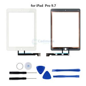 Para-iPad-Pro-9-7-A1673-A1674-Digitalizador-de-pantalla-tactil-Lente-de-cristal