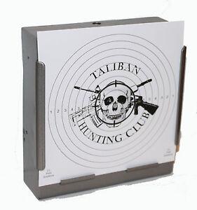 100-170gsm-Card-Air-Rifle-TALIBAN-HUNTING-CLUB-Targets-14cm-Pistol-airsoft