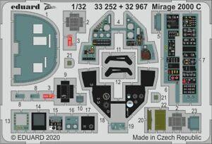 EDUARD-ZOOM-33252-Detail-Set-for-Kitty-Hawk-Kit-Mirage-2000C-in-1-32