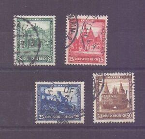 Dt-Reich-1931-Nothilfe-MiNr-459-462-gestempelt-Michel-140-00-380