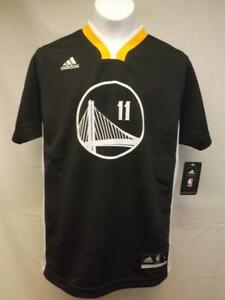 Nuevo-Klay-Thompson-11-Warriors-Youth-TALLA-S-Pequeno-8-Negro-Adidas-Camiseta