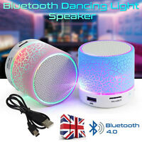 Portable Mini Wireless Stereo FM Music Bluetooth Speaker For iPhone Tablet PC UK