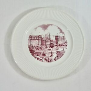 Wedgwood Plate New York University NYU Washington Square East View Mulberry VTG