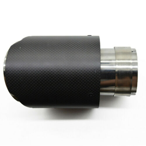 76 ID 101mm OD Carbon Fiber Exhaust Tips for BMW M Colored Muffler Pipe Tailpipe