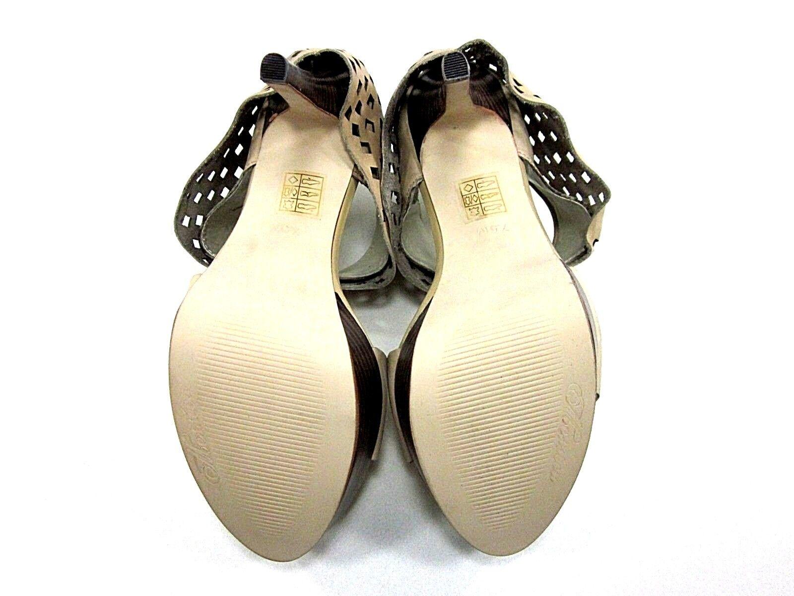Sandalia tamaño de plataforma para mujer Ember MESSECA, desnuda, US tamaño Sandalia 7.5, Media, Nuevo Exhibido e6a7a2