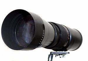 Pentacon-500mm-F5-6-M42-Mount-lens-Pentacon-6-mount-also-included-Telephoto