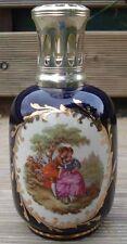 Lampe Berger Bleue Motif Romantique Vintage