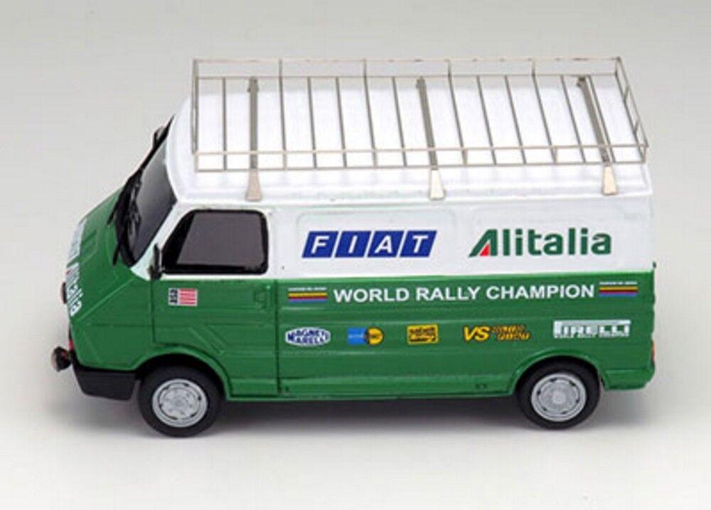 Kit Fiat 242 assistenza Fiat Alitalia anni 1978 1979 - Arena Models kit 1 43