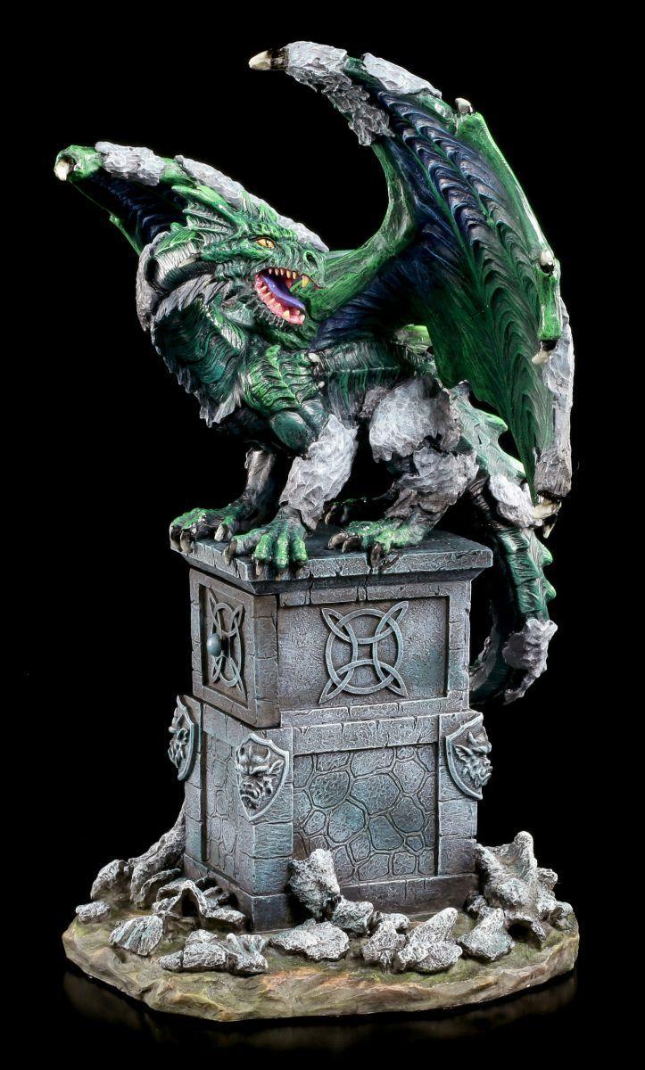 Figura de Dragón Versteinert - Das Erwachen - Estatua Veronese Colección