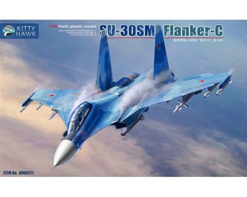 TOP NEUHEIT KITTYHAWK !1//48; Su-30SM Flanker-H
