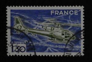 Timbre poste. France. n°1805. Hélicoptère Gazelle