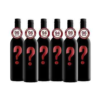 Mystery Mixed Cabernet Sauvignon 6-Pack bottle Dry Red Wine 750mL