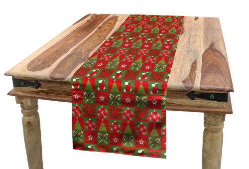 Heiligabend Ornaments Weihnachten Tischläufer