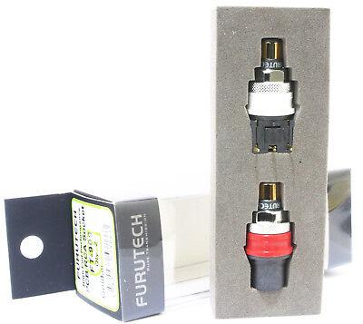 High-End grade RCA plug socket female pair FT-903 R Genuine Furutech FT903