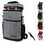 Insulated Wine Carrier Tote Bag 2 Bottle Padded Cooler Bag with Free Corkscrew