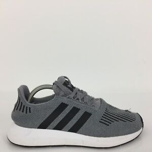Adidas Swift Run Gris Textile Sports Trainer Sneaker CQ2115 Hommes Taille UK 8 EUR 42