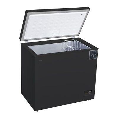 LOGIK L200CFB18 Chest Freezer - Black - Currys