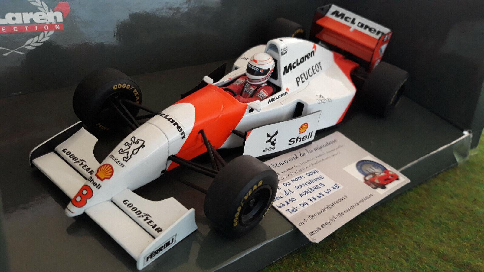 F1 McLAREN PEUGEOT MP4 9 formule 1   8 BRUNDLE 1994 au 1 18 MINICHAMPS 530941808