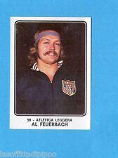 CAMPIONI dello SPORT 1973/74-Figurina n.59- FEUERBACH -ATLETICA LEGGERA-Rec