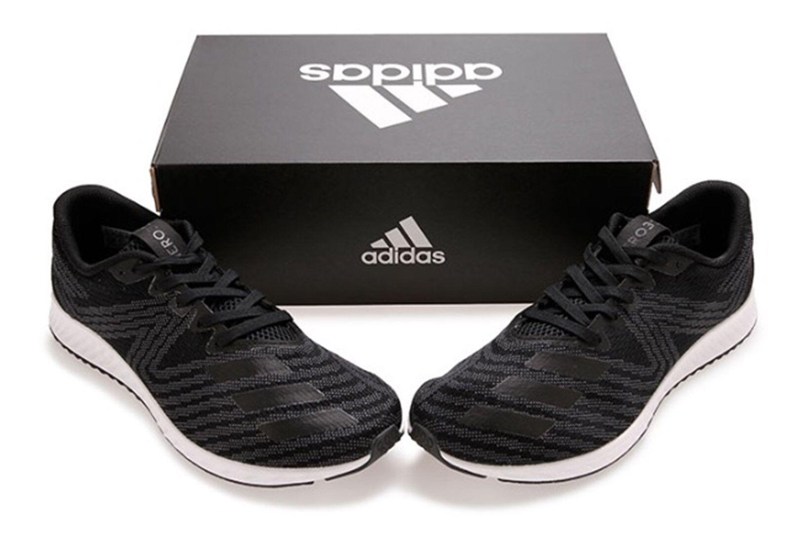 Zapatos De Entrenamiento Adidas Hombres aerobounce pr Negro Zapatillas botas Zapato de correr DA9917