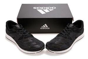 promo code b8b7e 847c1 Image is loading Adidas-Men-Aerobounce-PR-Training-Shoes-Running-Black-