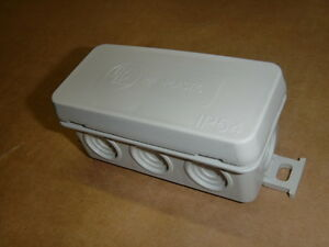 100-x-FR-AP-Abzweigdose-Mini-89mm-x-42mm-x-38mm-IP54-Verbindungsdose-89x42x38