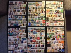 GERMANY-DEUTSCHLAND-COLLECTION-LOT-200-stamps-USED-ALL-DIFFERENT