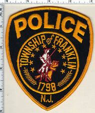 Township of Franklin Police (New Jersey) Shoulder Patch from 1992