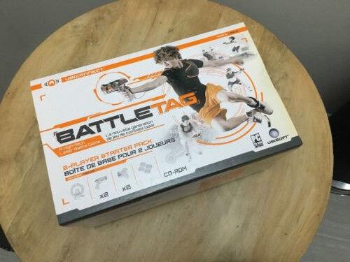 1 Ubisoft battle Tag battletag  2 Player Starter Pack Laser Tag-- New