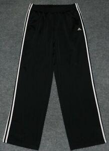 Adidas Para Hombre Pantalon De Entrenamiento Esenciales 3 Rayas Ad4001 Regular Fit Negro Xl Pantalones Ebay