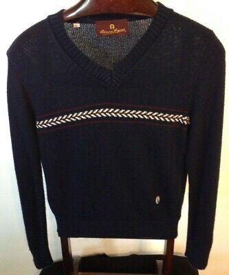Size S VTG 80s Etienne Aigner Wool Women Jacket