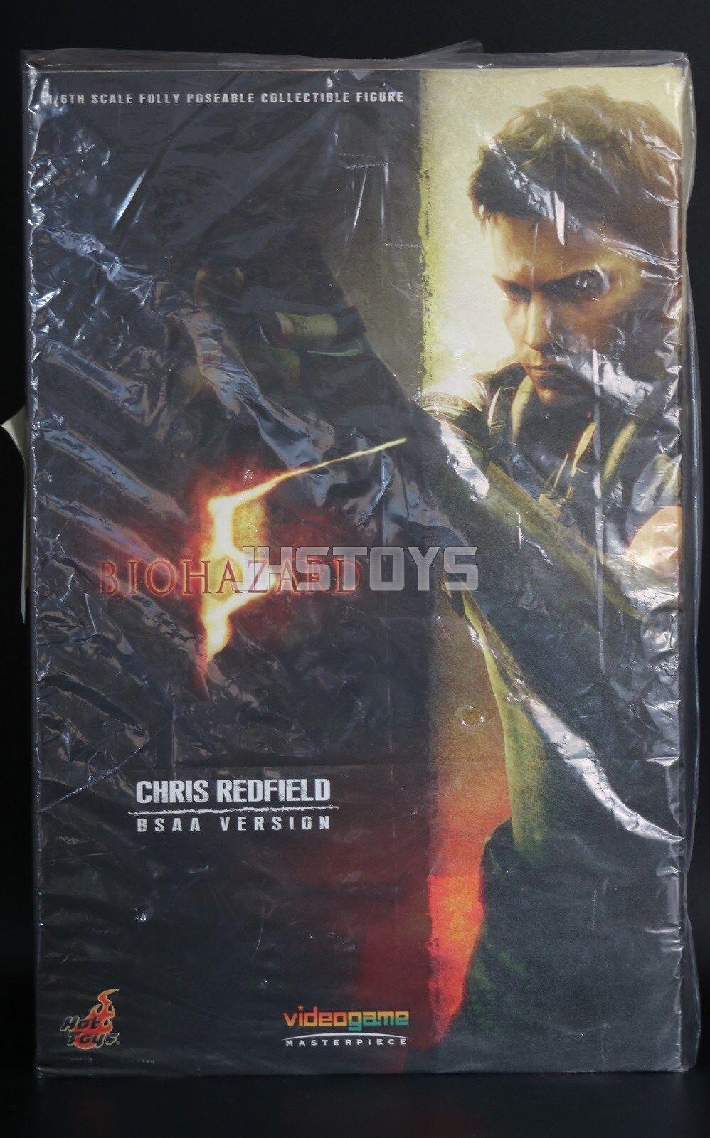 Hot Toys 1/6 Resident Evil Biohazard 5 Chris ROTfield BSAA Version VGM06