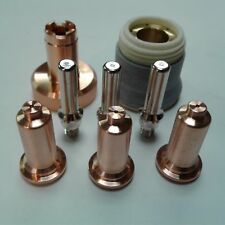 8pc Long Shielded Consumable Kit Fits Primeweld Cut 60 Plasma Cutter Ipt60 Torch