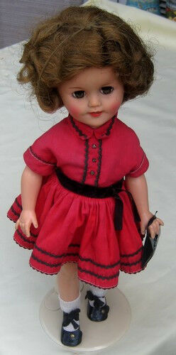 Shirley Temple Ideal All Original Vinyl & Plastic 1959 Doll Rare